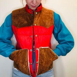 Vintage Puffer Vest